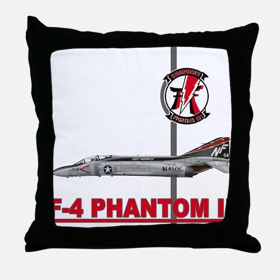 Cute F4 Throw Pillow