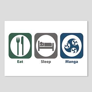 Eat Sleep Manga Postcards (Package of 8)