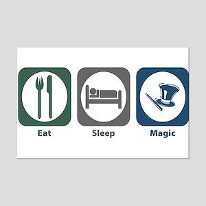 Eat Sleep Magic Mini Poster Print