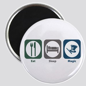 Eat Sleep Magic Magnet
