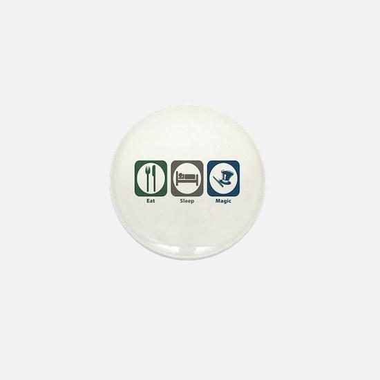 Eat Sleep Magic Mini Button