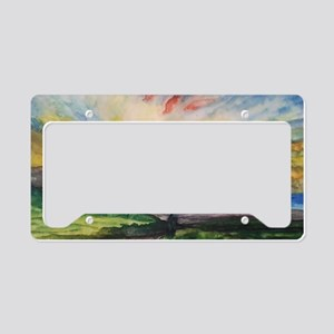 Ruby Tuesday License Plate Holder