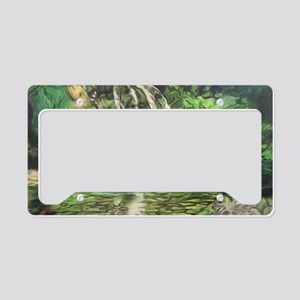 Paradise City License Plate Holder