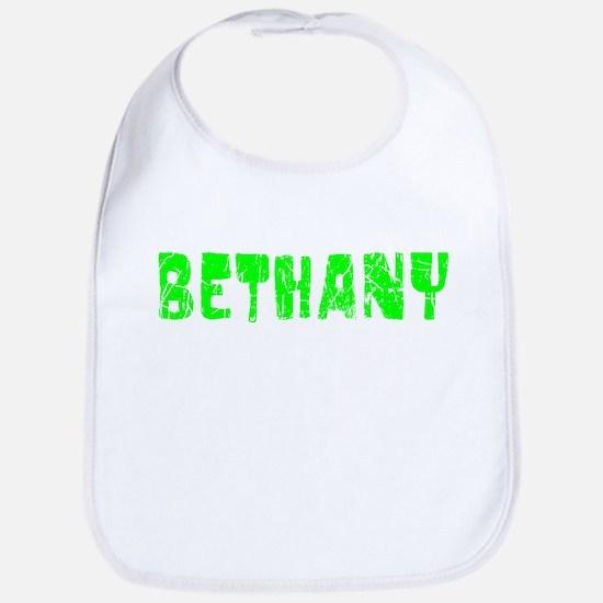 Bethany Faded (Green) Bib