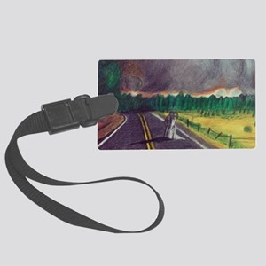 For Better Or Worse Large Luggage Tag