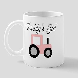Daddy's Girl - Pink Tractor Mug