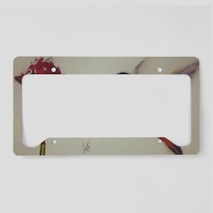 Delicate License Plate Holder