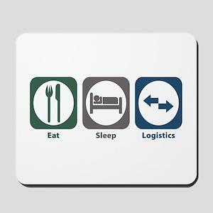 Eat Sleep Logistics Mousepad