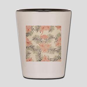 Vintage Flamingo Shot Glass