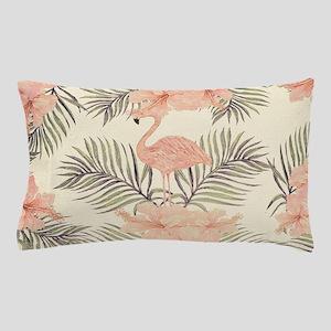 Vintage Flamingo Pillow Case