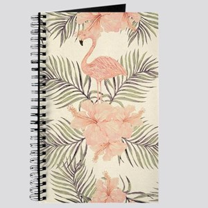 Vintage Flamingo Journal