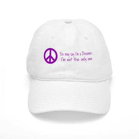 Imagine Peace Sign Cap