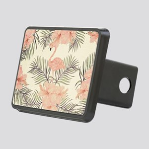 Vintage Flamingo Rectangular Hitch Cover