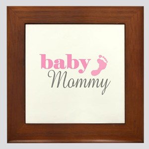BABY MOMMY Framed Tile