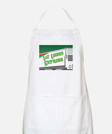 Lot Lizard Trucking Express BBQ Apron