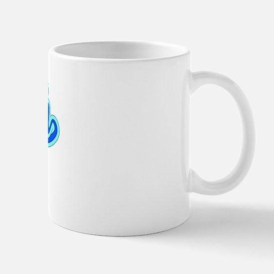 Retro Myah (Blue) Mug