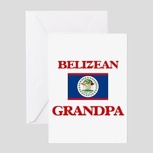 Belizean Grandpa Greeting Cards