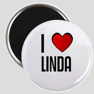 I LOVE LINDA Magnet