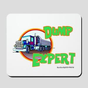 Dump Expert Truck Design Mousepad