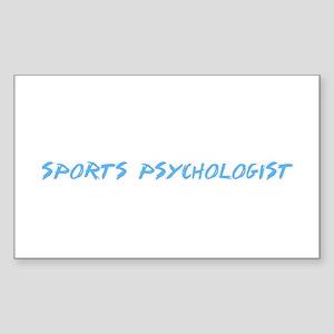 Sports Psychologist Profession Design Sticker