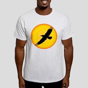 Eagle in the Sun Ash Grey T-Shirt