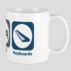 Eat Sleep Keyboards Mug