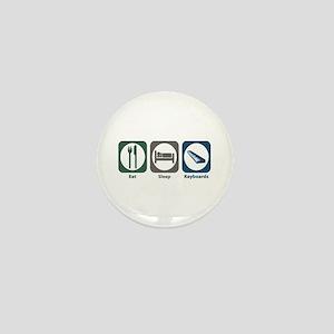 Eat Sleep Keyboards Mini Button