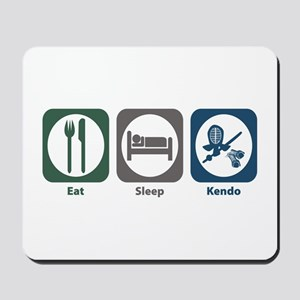 Eat Sleep Kendo Mousepad