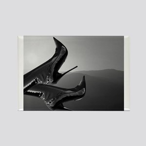 Stiletto Boots and Sunset Rectangle Magnet