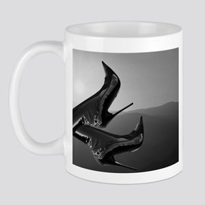 Stiletto Boots and Sunset Mug