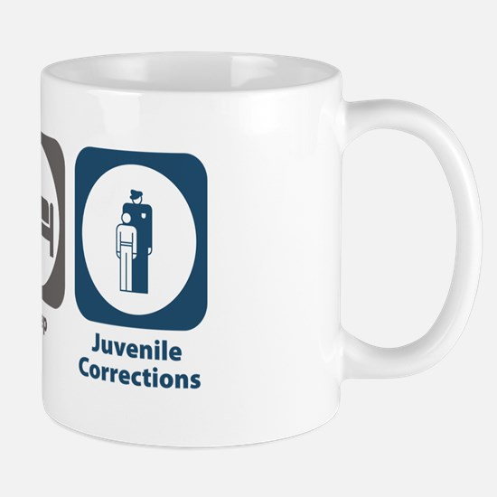 Eat Sleep Juvenile Corrections Mug