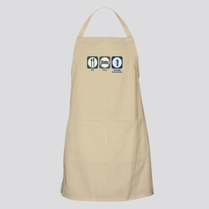Eat Sleep Juvenile Corrections BBQ Apron