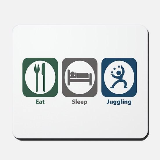 Eat Sleep Juggling Mousepad