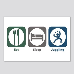 Eat Sleep Juggling Postcards (Package of 8)