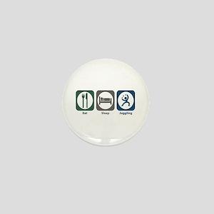 Eat Sleep Juggling Mini Button