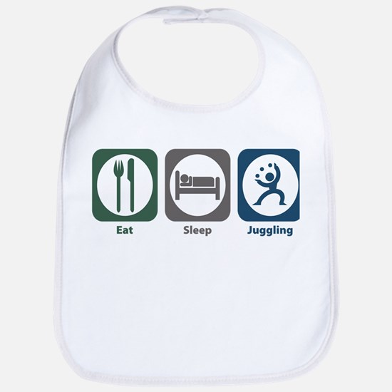 Eat Sleep Juggling Bib