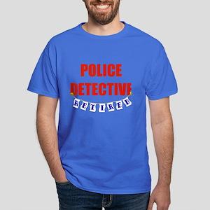 Retired Police Detective Dark T-Shirt