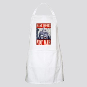 Make Coffee Not War BBQ Apron