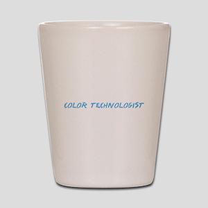 Color Technologist Profession Design Shot Glass