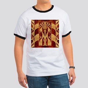 Harvest Moons Art Deco Panel T-Shirt