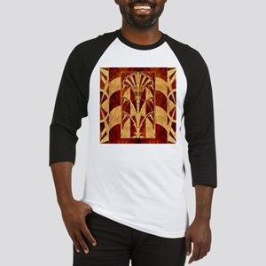 Harvest Moons Art Deco Panel Baseball Jersey