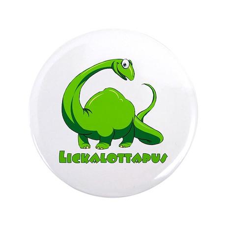 "Lickalottapus 3.5"" Button (100 pack)"
