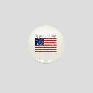 Fly Your Freak Flag Mini Button