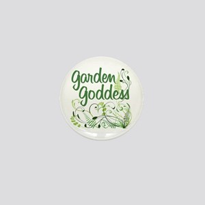 Garden Goddess Mini Button