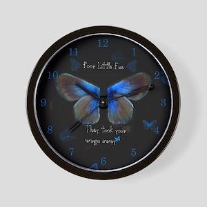 Poor little Fae. . . Wall Clock
