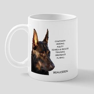 Versatile Beauceron Mug