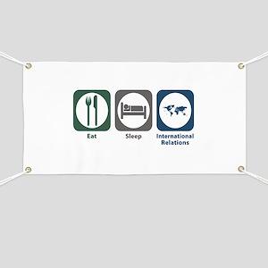 Eat Sleep International Relations Banner