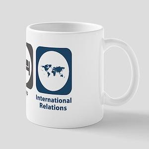 Eat Sleep International Relations Mug