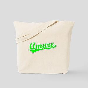 Retro Amare (Green) Tote Bag