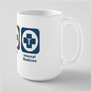 Eat Sleep Internal Medicine Large Mug